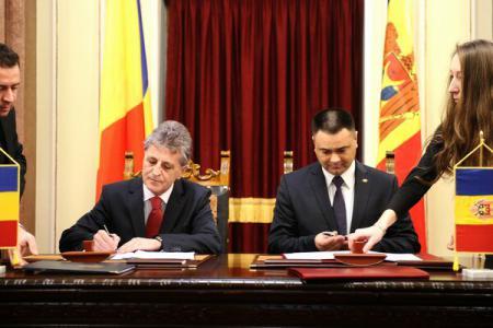 Ministrul Apărării, Mircea Dușa și omologul său de peste Prut, Vitalie Marinuță