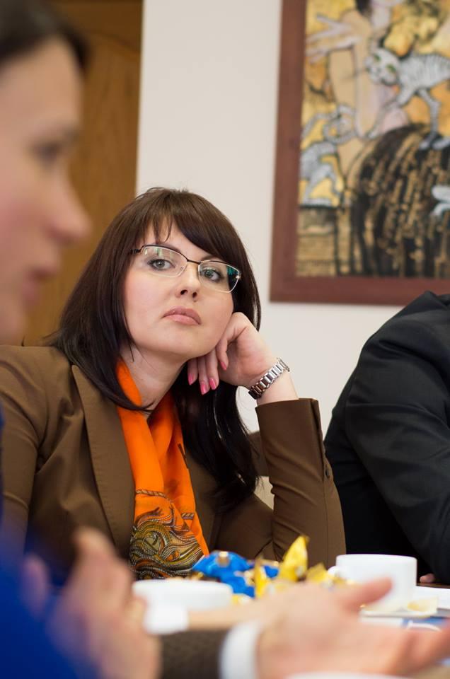 Pretinsa sefa a diplomatiei de la Tiraspol, Nina Stanski