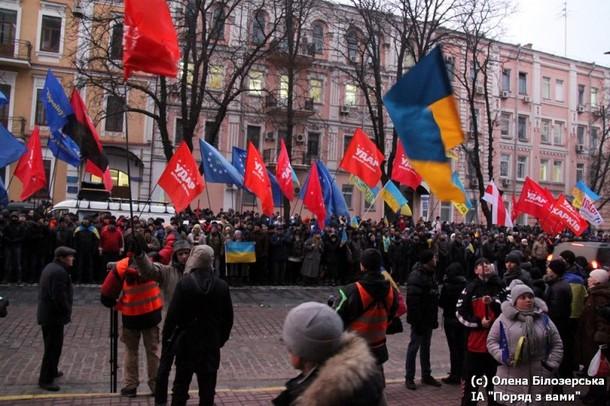 proteste de la Kiev
