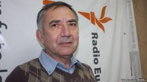 Directorul liceului Lucian Blaga din Tiraspol, Ion Iovcev (foto: Europa Libera)