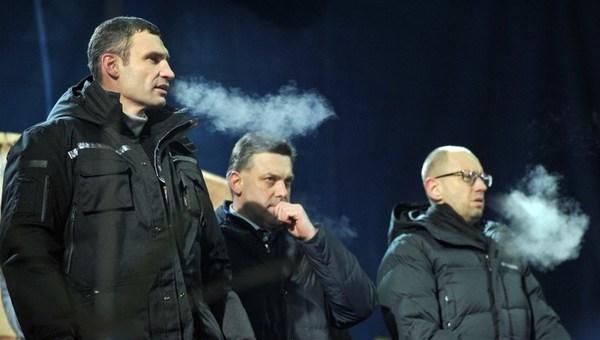 Liderii opozitiei de la Kiev