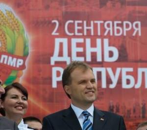 Liderul separatist transnistrean, Evgheni Sevciuk