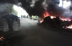 ukraine baricade