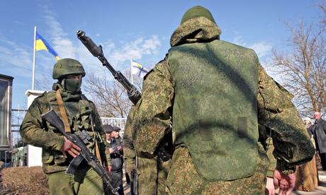 Trupe speciale ruse în Ucraina