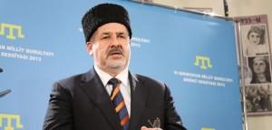Refat Ciubarov, unul dintre liderii tatarilor crimeeni