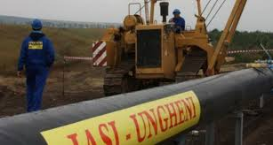 gazoduct ungheni iasi