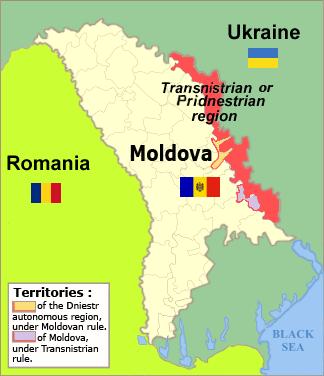 TransnistrianRegionMap