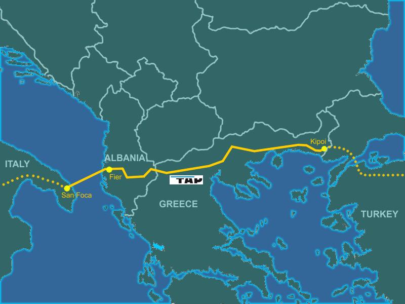 Gazoductul TAP poate deveni o noua realitate geopolitica in bazinul Marii Negre