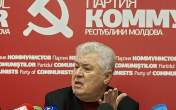PCRM, condus de Vladimir Voronin, este favorit in preferintele electorale din Republica Moldova