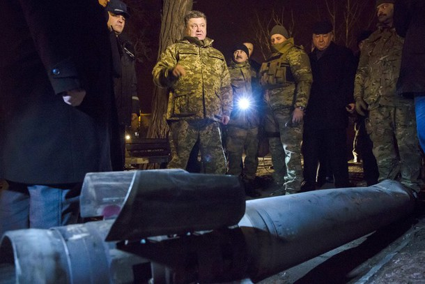 TOPSHOTS-UKRAINE-RUSSIA-CRISIS-POROSHENKO