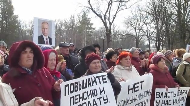 Protest Tiraspol