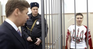 Eroina Nadia Savcenko, simbol al luptei Ucrainei impotriva agresiunii pro-ruse din estul tarii