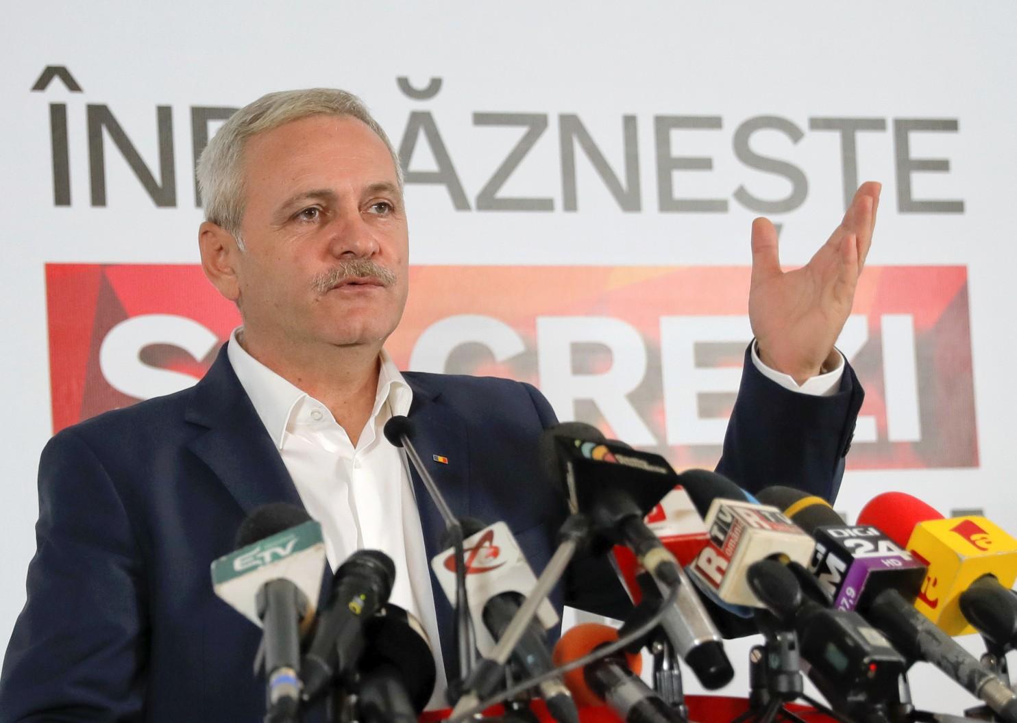Liderul PSD, Liviu Dragnea, câștigătorul alegerilor parlamentare