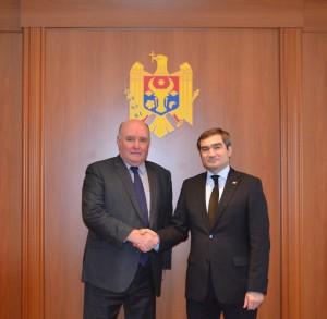 Adjunctul ministrului rus de Externe, Grigori Karasin, împreună cu omologul său de la Chișinău, Lilian Darii