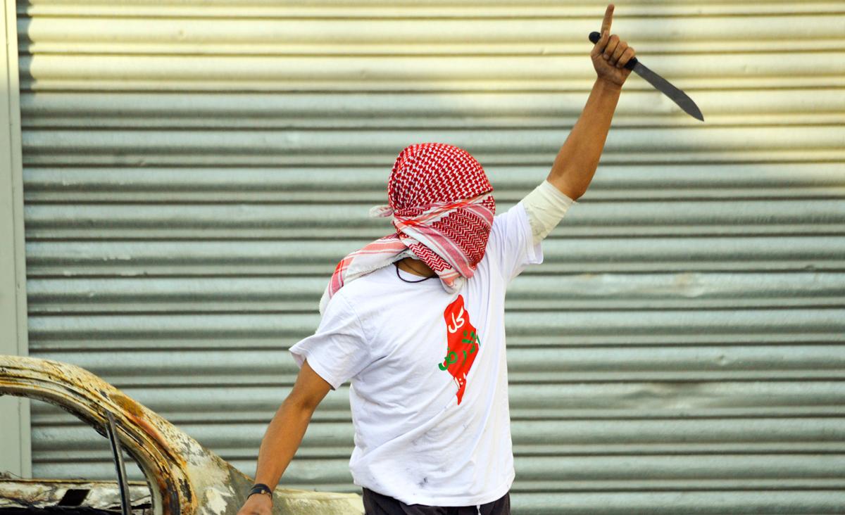 Intifada cuțitelor, raspunsul palestinian la esecul negocierilor pentru pace