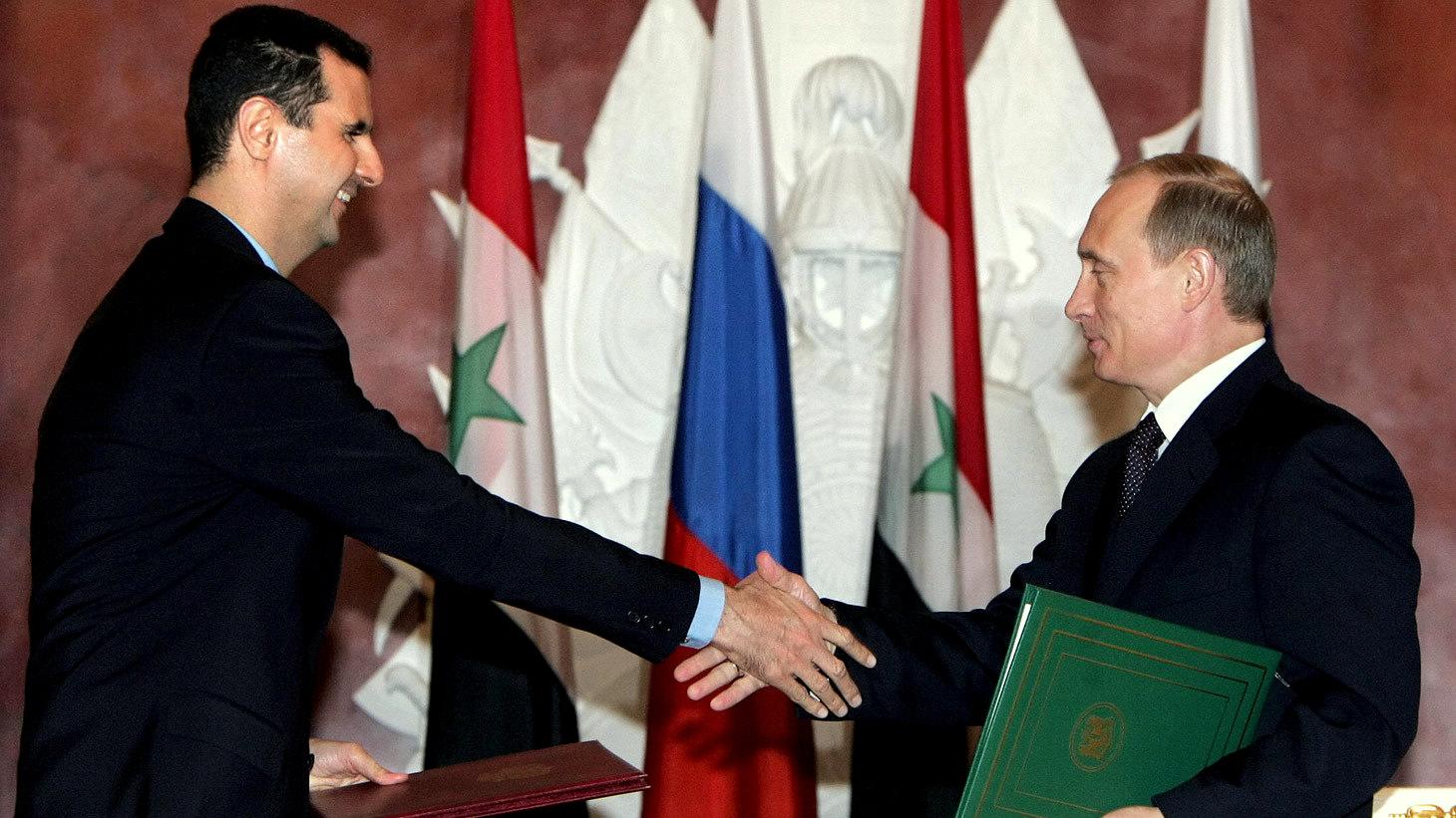 Liderul-sirian-Bashar-al-Assad-poate-conta-pe-sprijinul-militar-și-diplomatic-al-omologului-său-rus-Vladimir-Putin