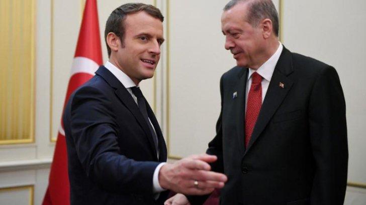 Presedintele francez Macron, nemultumit de politica omologului sau turc