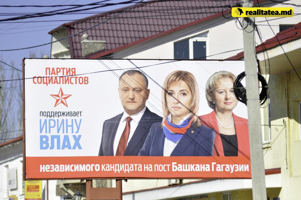 Alianta politica dintre Irina Vlah si Igor Dodon a adus dividente electorale importante pentru ambele părți