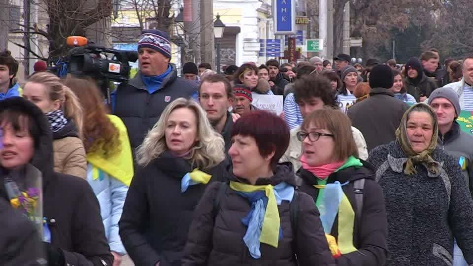 Cetățenii ucraineni părăsesc în mod masiv țara