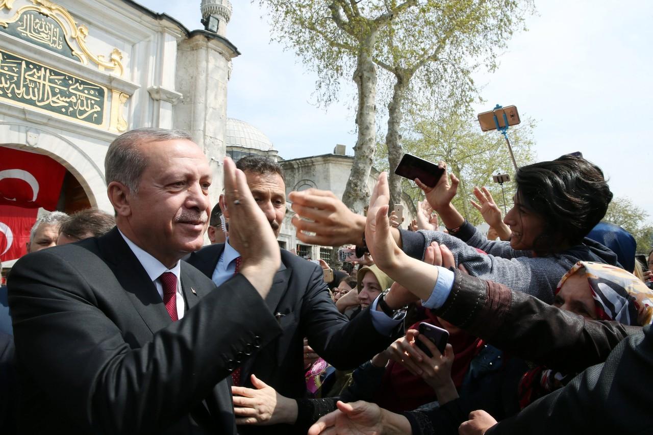 Liderul turc, Recep Tayyip Erdogan, multumit de rezultatul ofensivei militare din Siria