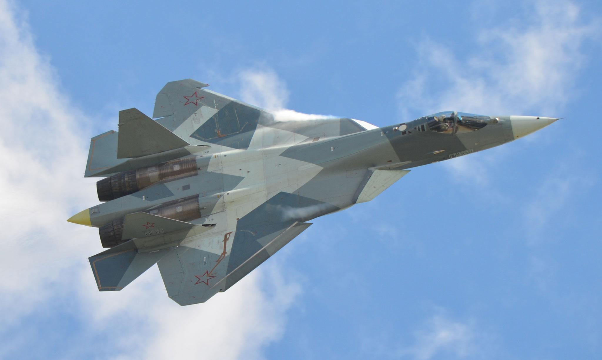 SU-57, răspunsul rus la avionul de luptă de producție americană F-35