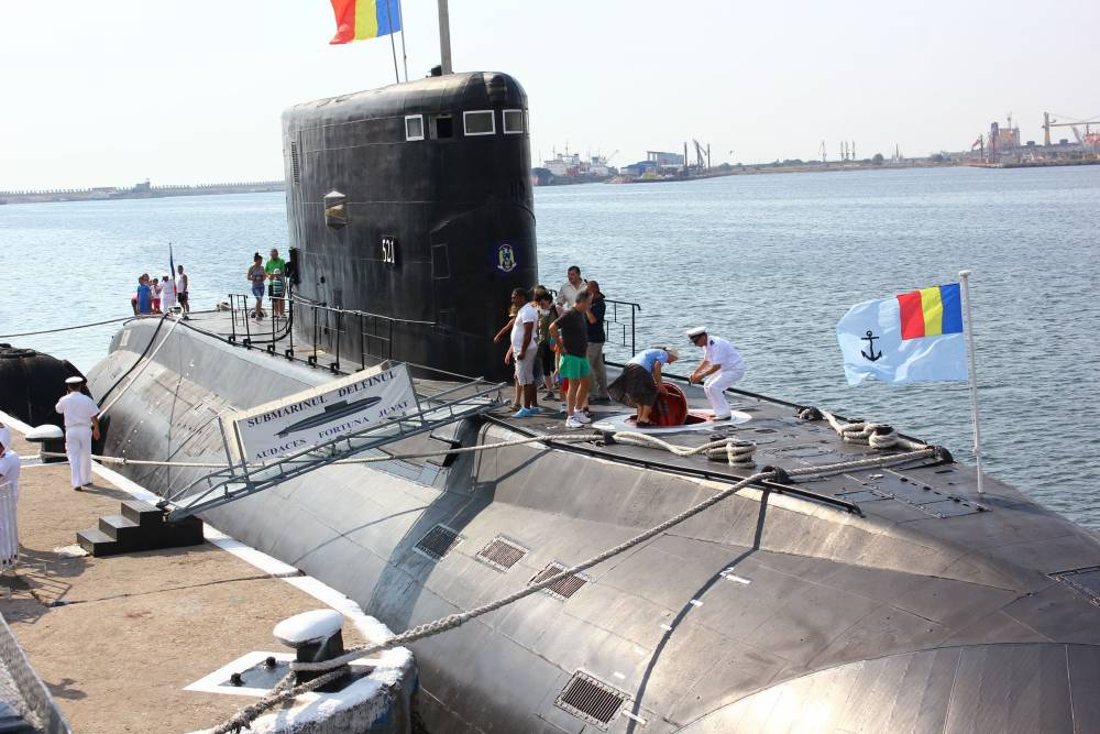 Submarinul Delfinul a ramas o simpla atractie turistica