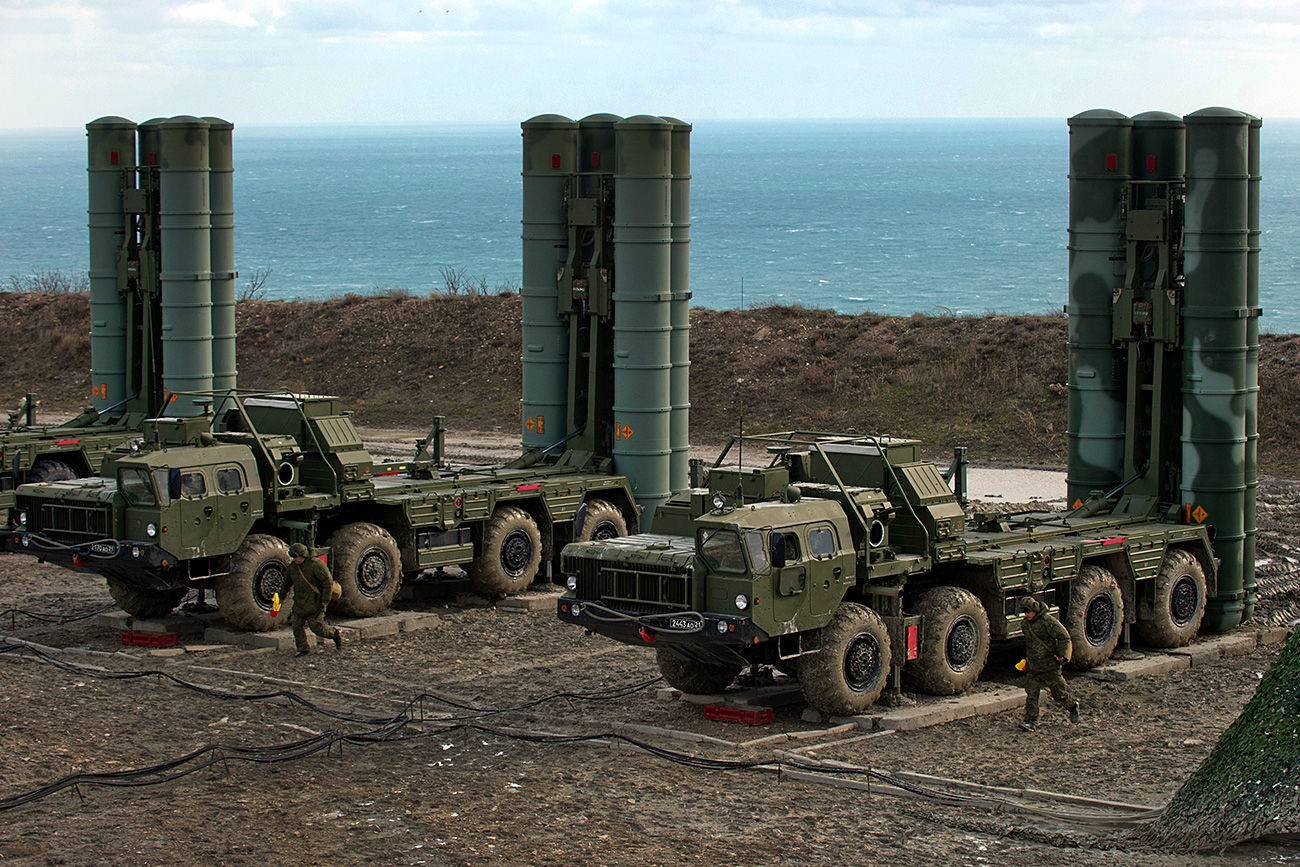 Sistemele S-400, furnizate Turciei, sunt folosite pentru protecția forțelor militare din Crimeea