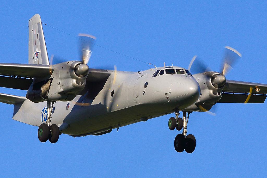 Avionul de transport model An-26, implicat în mai multe accidente grave pe frontul rusesc din Siria