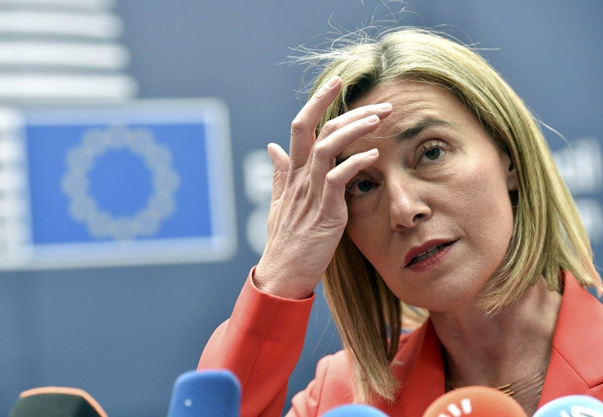 Comisarul Federica Mogherini, un alt înalt oficial european pus în dificultate de Ucraina