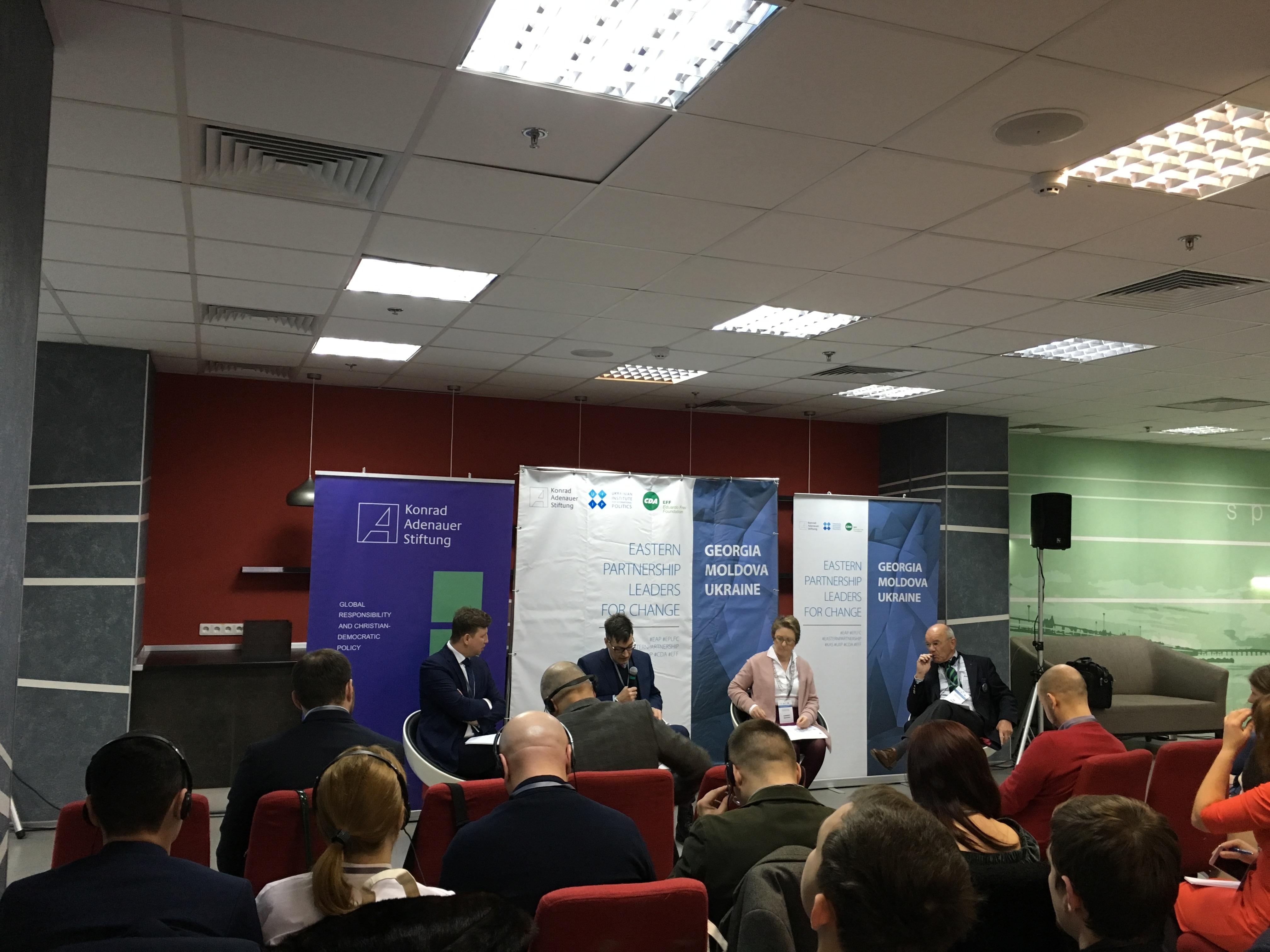 """""""Eastern Parstnership Leader for Change"""" incearcă să combata efectele pe termen lung ale propagandei Federației Ruse din Ucraina"""