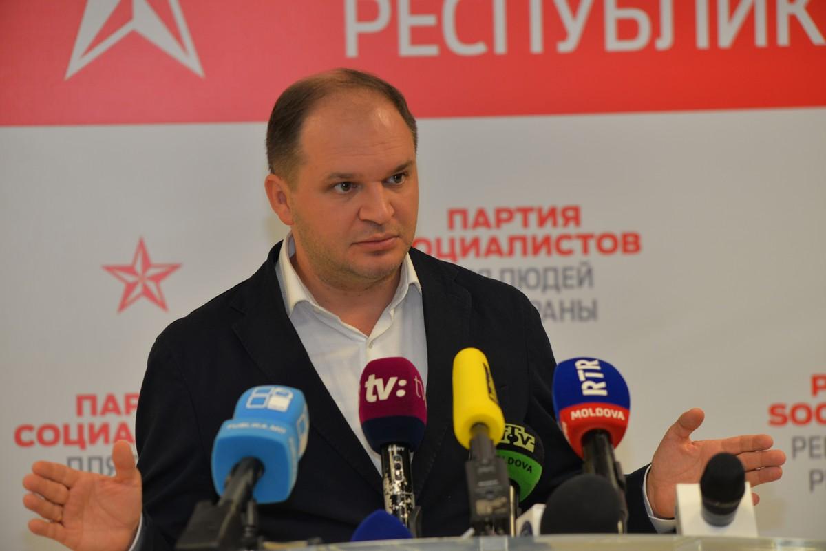 Ion Ceban, lideru grupului socialiștilor din Consiliu Municipal Chișinău, unul din favoriții cursei electorale pentru mandatul de primar al capitalei Republicii Moldova