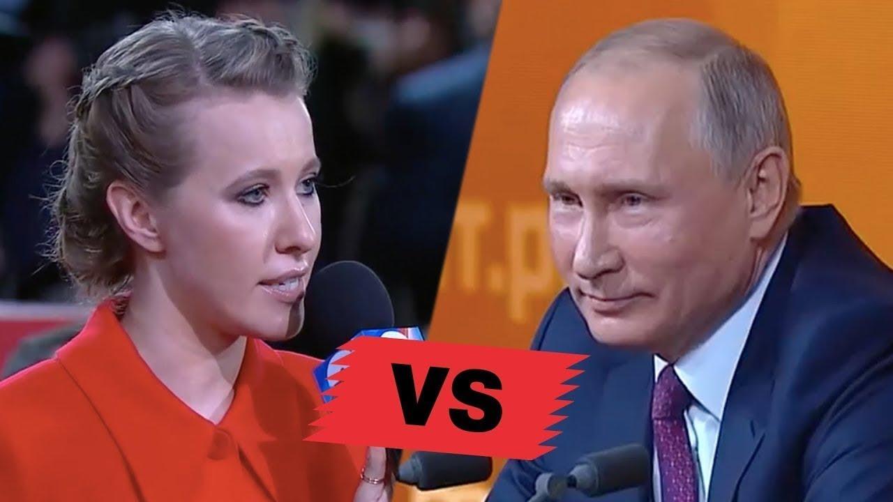 Ksenia Sobceak este acuzată periodica că nu este decât o marionetă a regimului Putin