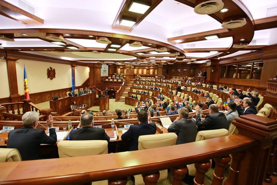 Majoritatea din Parlamentul de la Chișinău a refuzat să participe la o ședință comună festivă cu Legislativul României