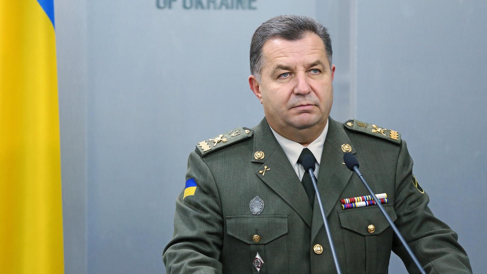 Ministrul Apărării de la Kiev, Stepan Poltorak, respinge categoric participarea trupelor rusești la misiunea de menținere a păcii din Donbass