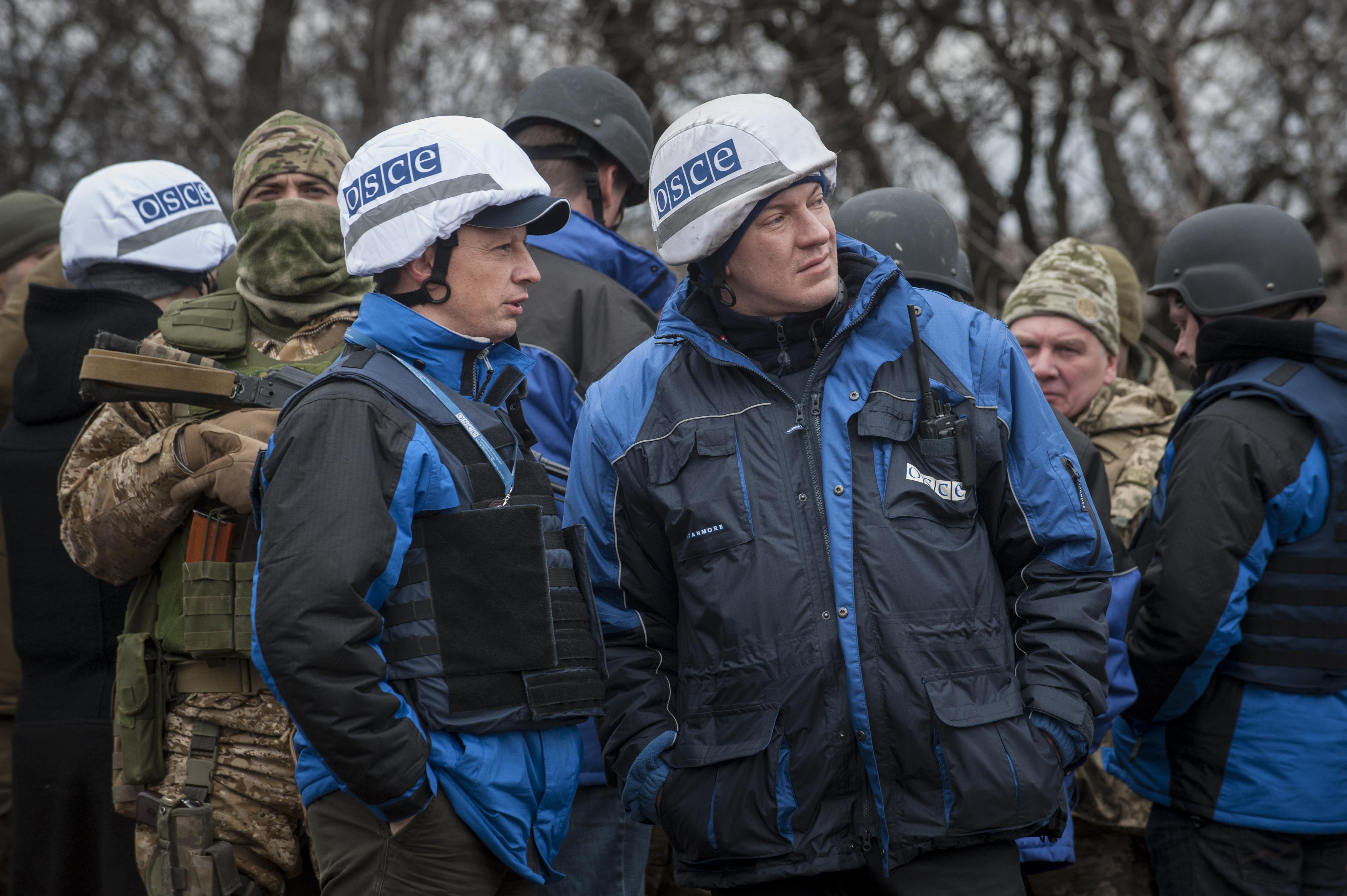 Misiunea OSCE rămâne în Ucraina pentru încă un an