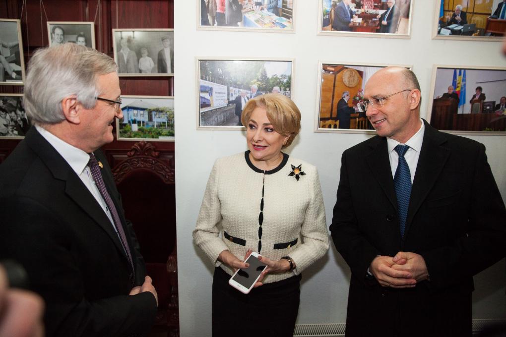 Premierul României, Viorica Dăncilă, și omologul ei de la Chișinău, Pavel Filip, au participat la lansarea noii asociații