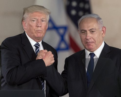 Premierul israelian Benjamin Netanyahu, mulțumit de sprijinul administrației Trump