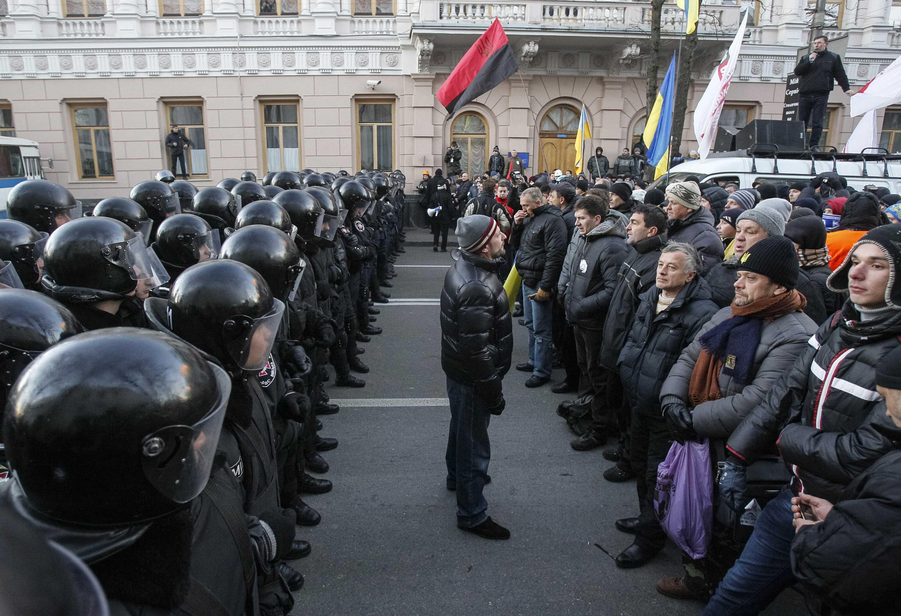 Protestele-împotriva-corupției-au-devenit-o-obișnuință-în-ultimele-luni-la-Kiev