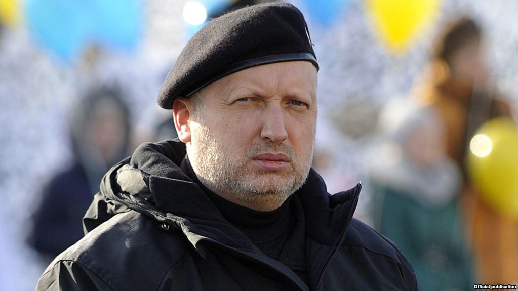 Oleksandr Turchynov, secretarul Consiliului Național de Securitate și Apărare de la Kiev, și un apropiat al președintelui Poroșenko, mulțumit de rezultatele testelor