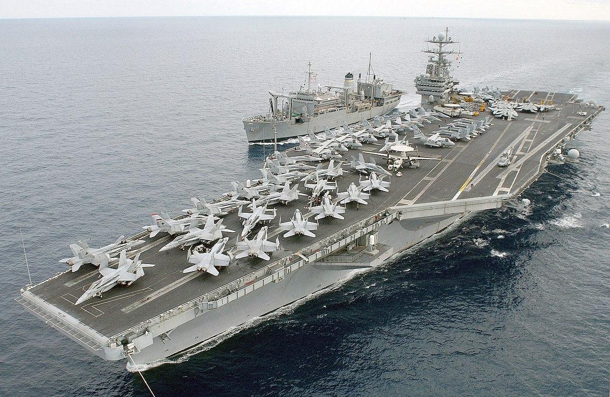 USS Harry S. Truman, unul din simbolurile puterii militare americane, in drum spre Siria