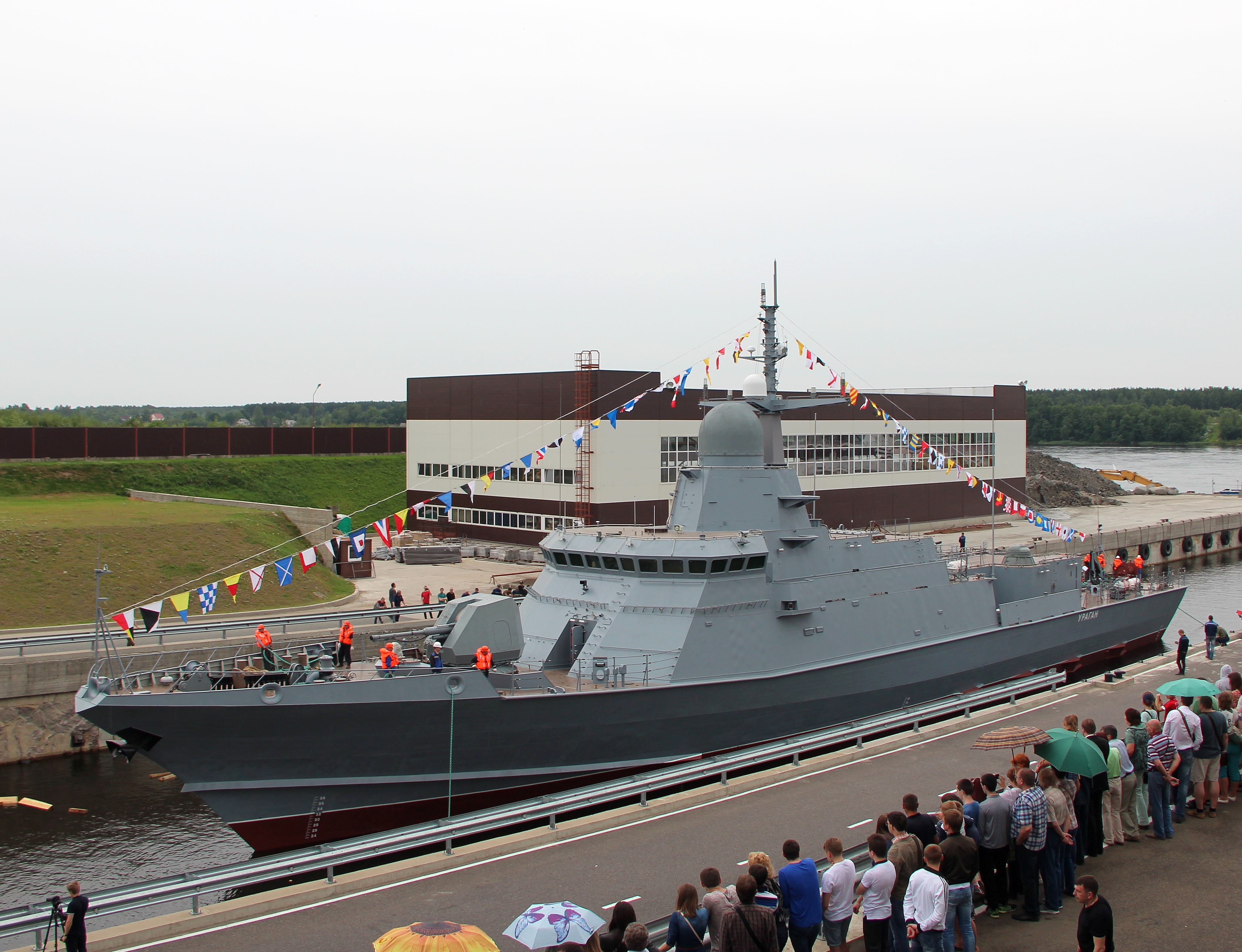 Uragan, prima corvetă din clasa Karakurt, a intrat deja în dotarea Flotei militare ruse