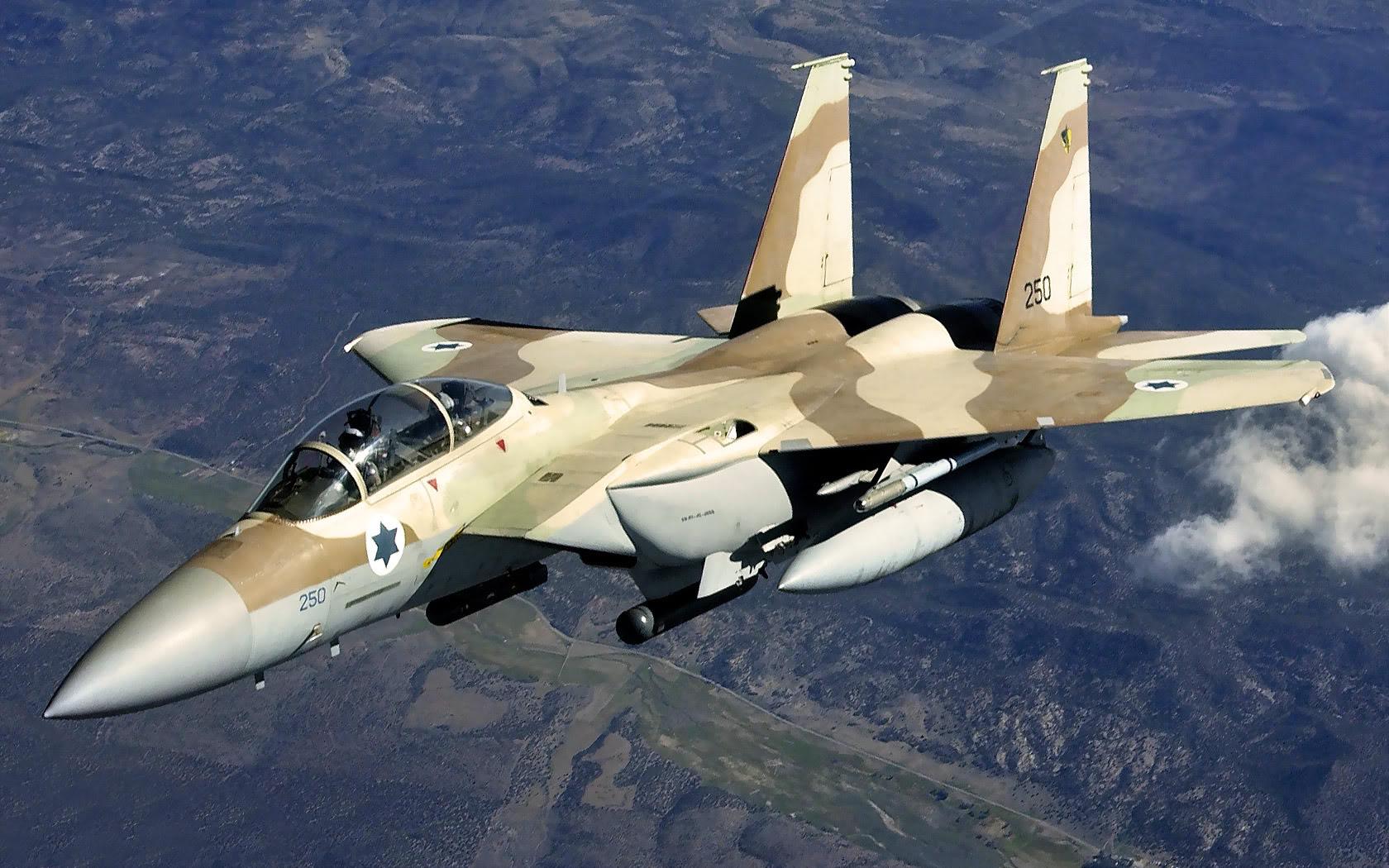 Aviația militară israeliană, pregătită să pună capăt programului nuclear iranian