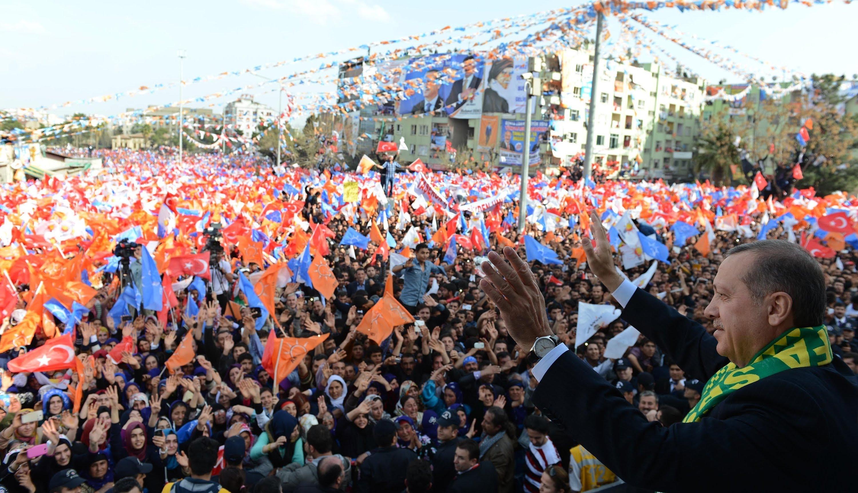 Erdogan se bucură de o loialitate absolută din partea susținătorilor săi