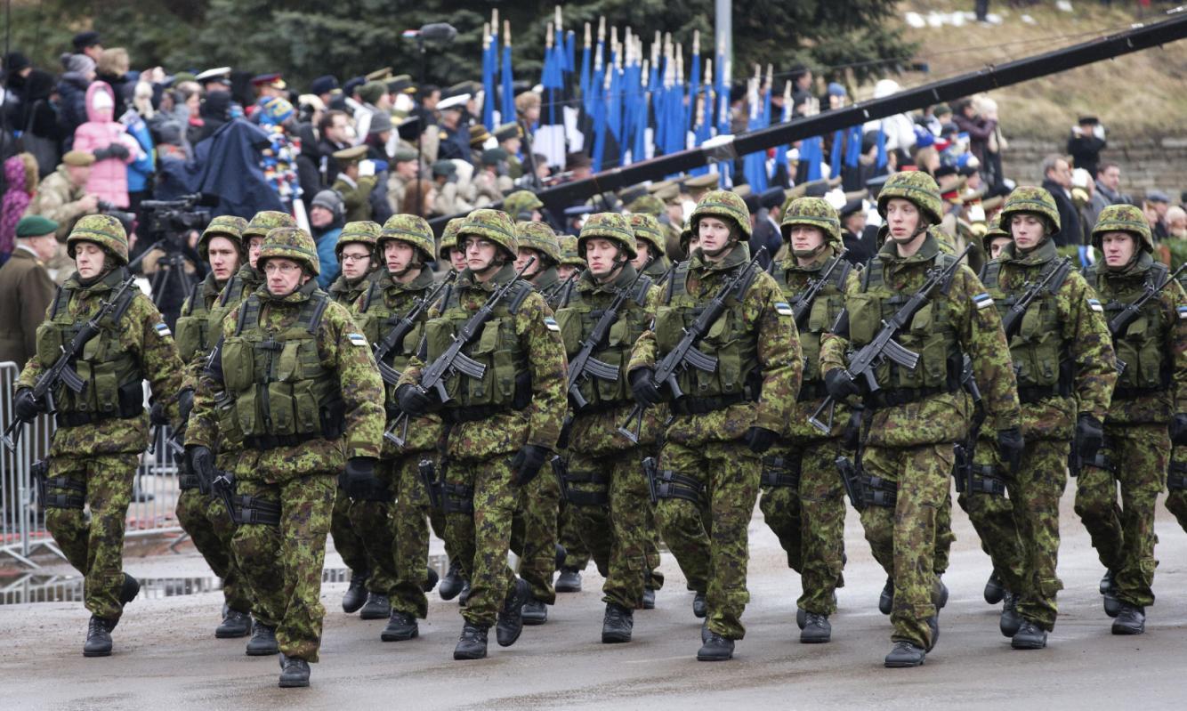 Estonia găzduiește cele mai mari exerciții militare din istoria sa recentă