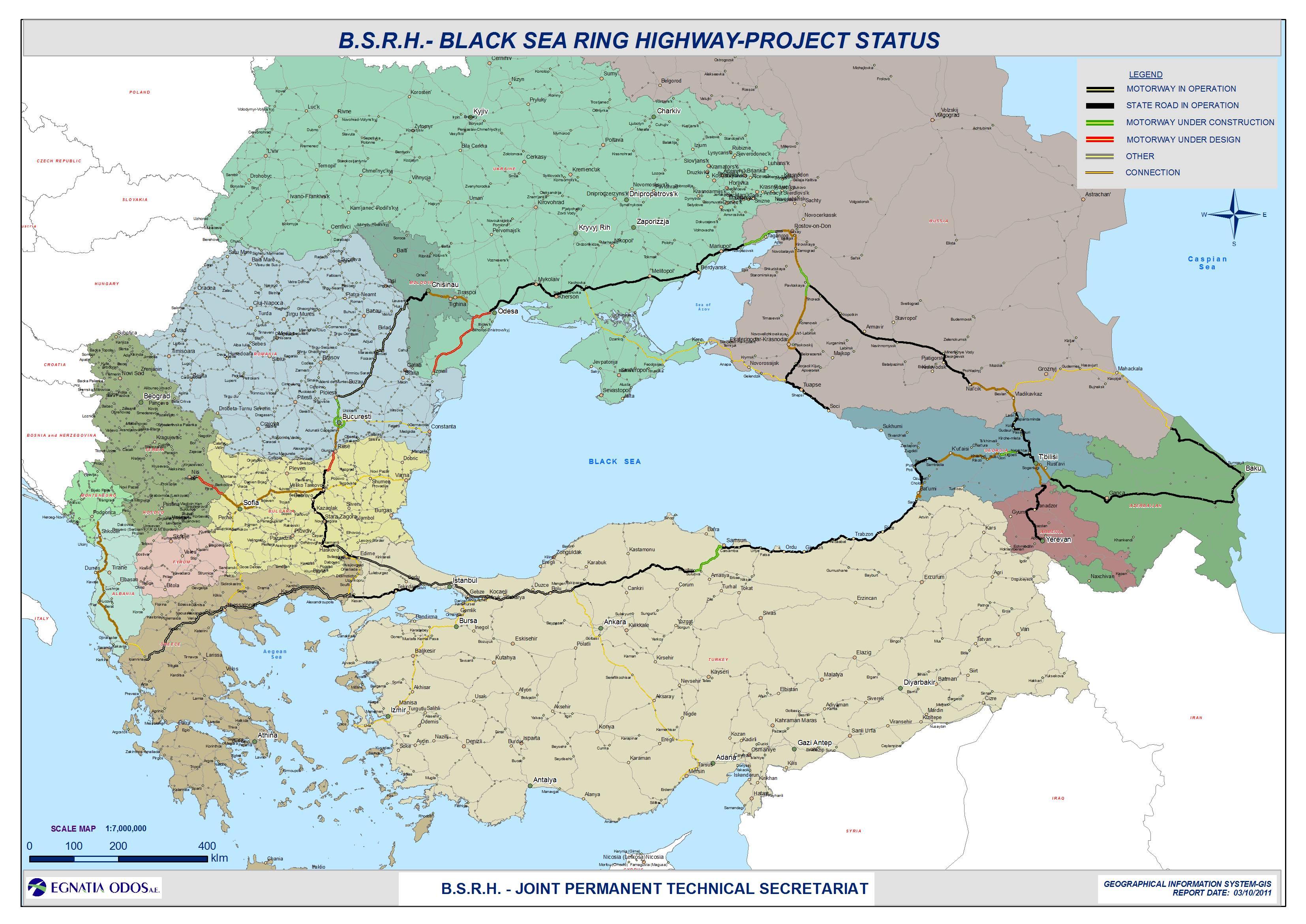 Infrastructura Mării Negre, o problemă stringentă