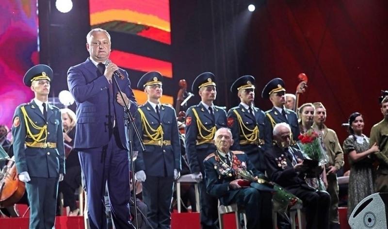 Președintele Republicii Moldova, Igor Dodon, susține consolidarea unei identități moldovenești, moștenire a perioadei sovietice