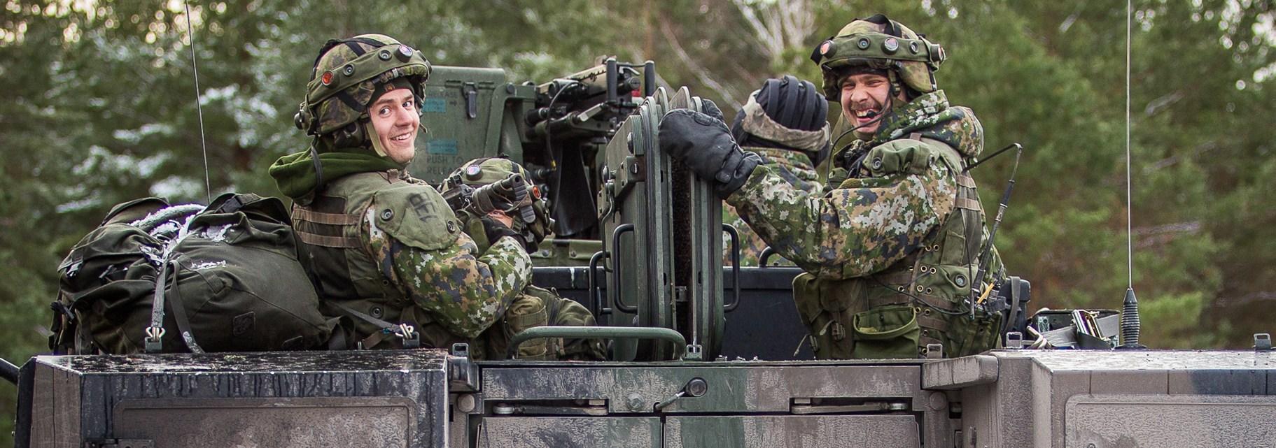 Soldații NATO se pregătesc intensiv în regiunea Baltică