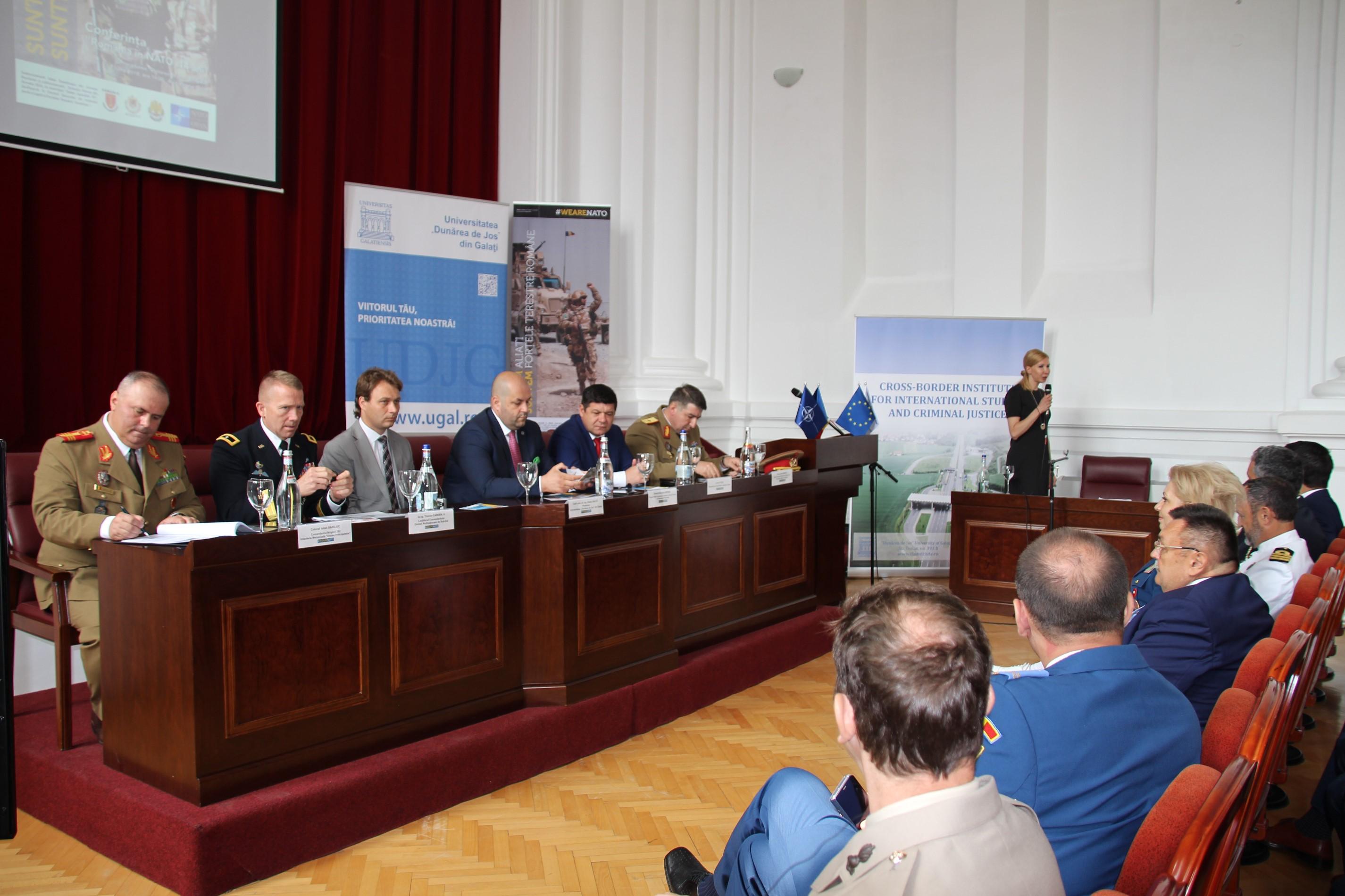 Conferința #weareNATO, o noutate pentru mediile academice din România