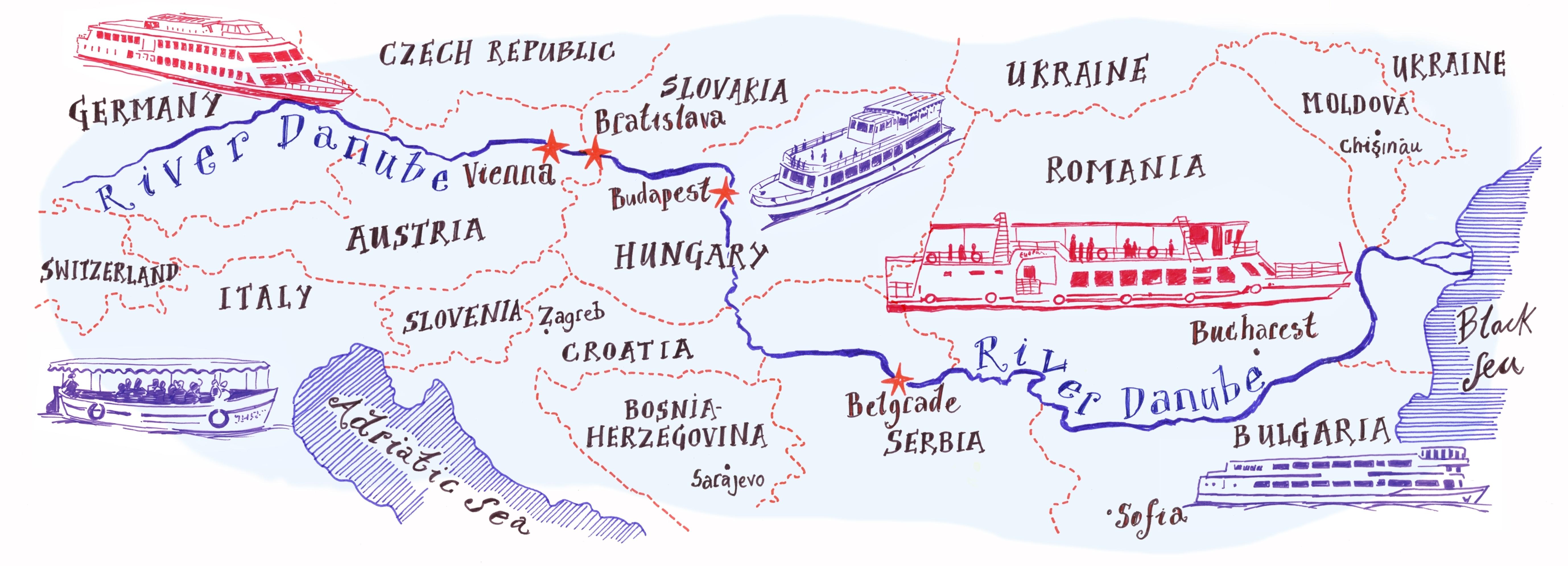 Dunărea, cale navigabilă strategică pentru statele europene