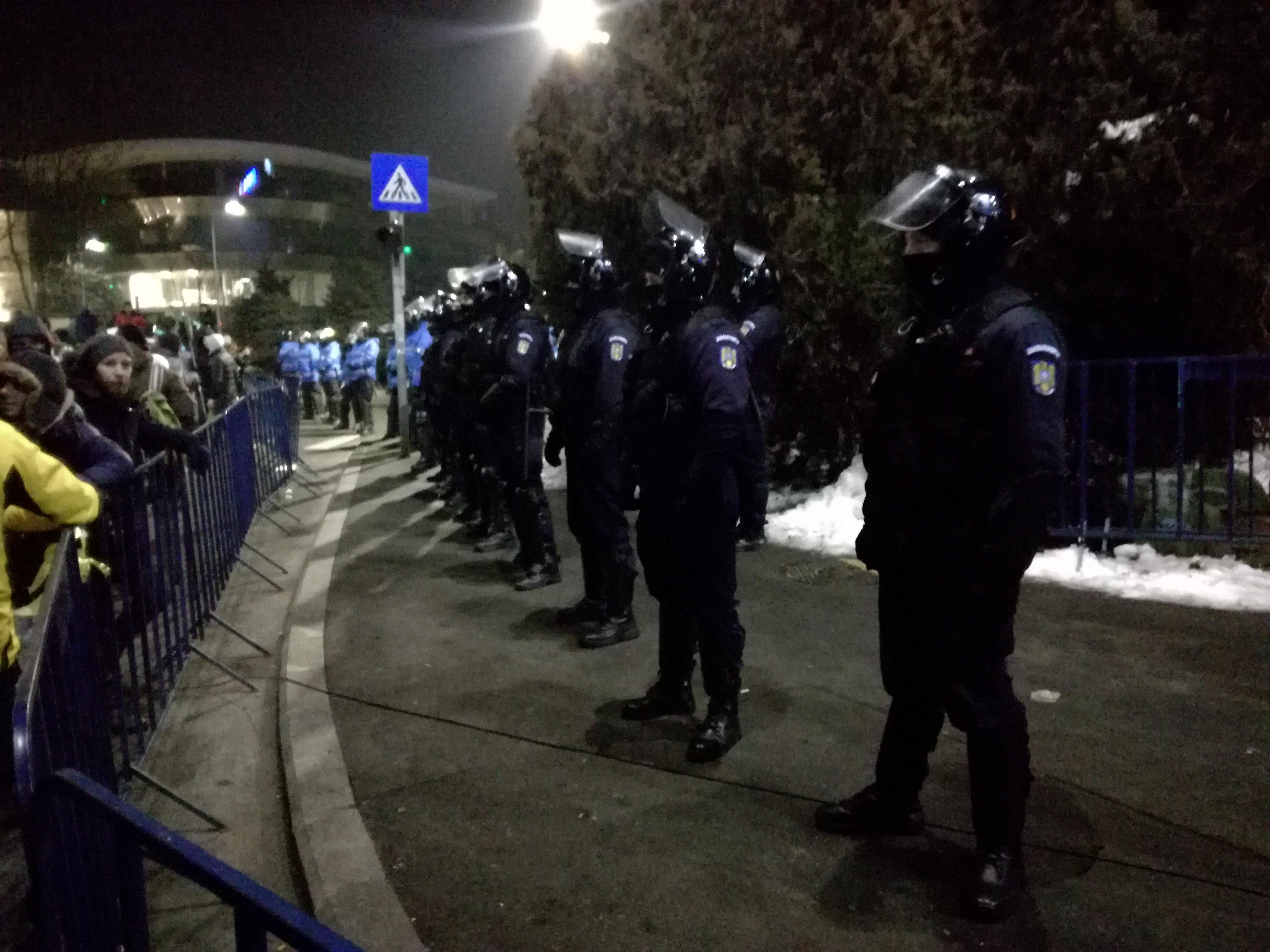Jandarmeria română se pregătește de noi proteste masive de stradă
